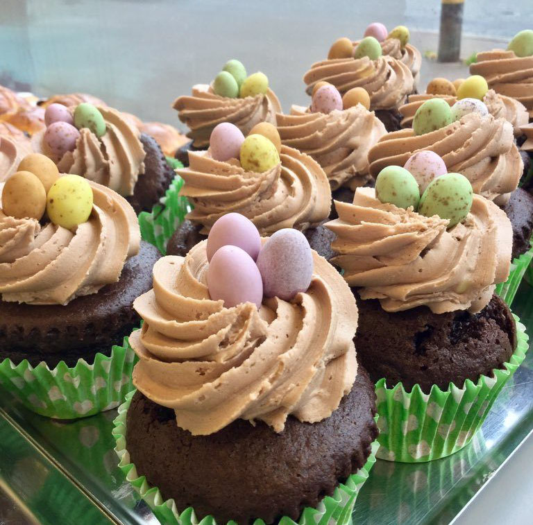 Easter at Hills bakery